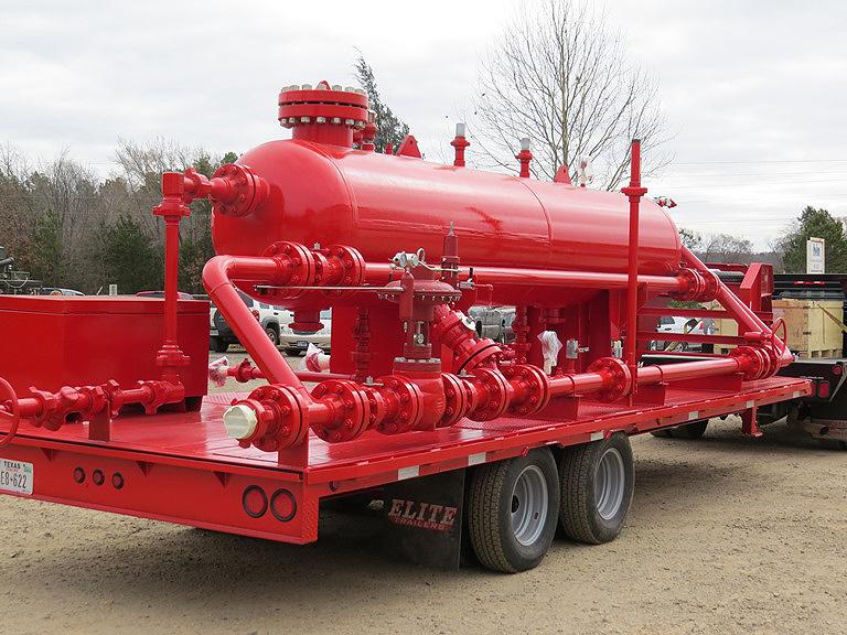 High & Low Pressure Test Separators - Quitman, Texas
